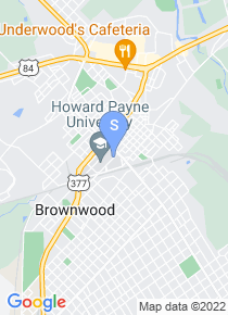 Howard Payne University map