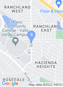El Paso Community College map