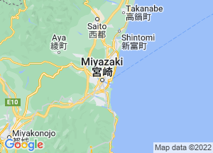 Google Map宮崎県地図