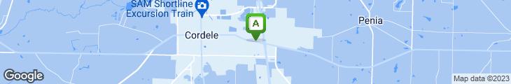 Map of Shoney's Restaurant