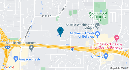 Map to Bellevue Location