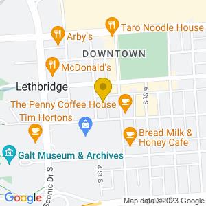 Map to Mocha Cabana provided by Google