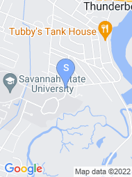 Savannah State University map