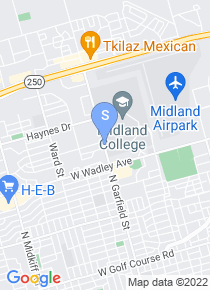 Midland College map