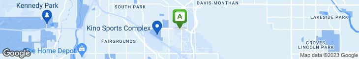 Map of Chopstix Asian Diner