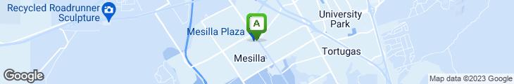 Map of La Posta de Mesilla