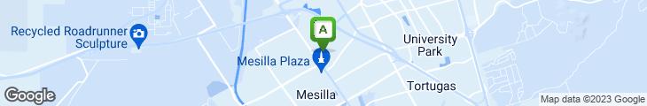 Map of Lorenzo's de Mesilla Ristorante Italiano