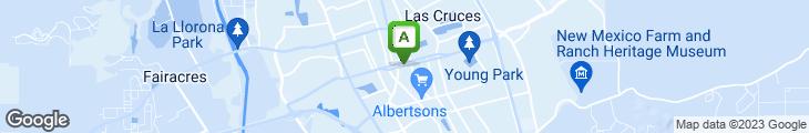Map of Church's Chicken