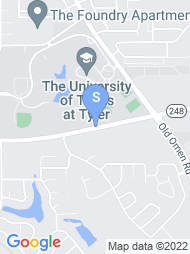 UT Tyler map