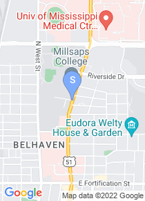 Millsaps College map