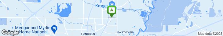 Map of Julep Restaurant & Bar
