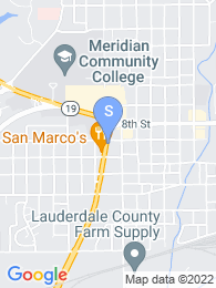 Meridian Community College map