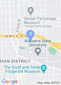 Alabama State University map