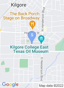 Kilgore College map