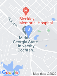 Middle Georgia College map