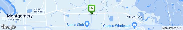 Map of La Bamba Cafe