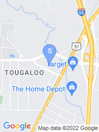 Tougaloo College map