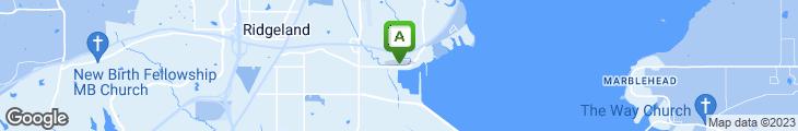 Map of Shucker's Oyster Bar