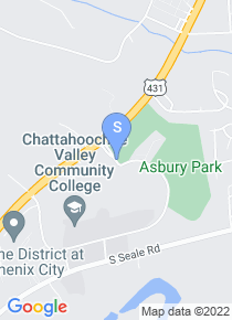 Chattahoochee Valley Community College map