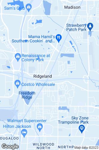 Map of Ridgeland