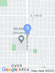 McMurry University map
