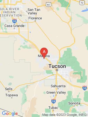 NEW HOMES map in Marana, Arizona, USA