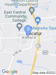 East Central Community College map