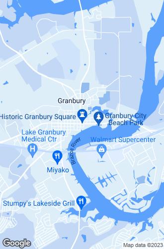 Map of Granbury