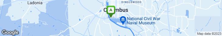 Map of Bludau's Goetchius House