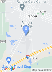 Ranger College map