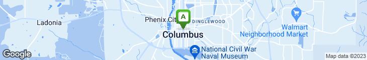 Map of Ruth Ann's Restaurant