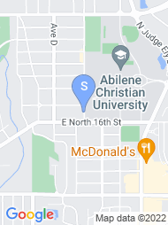 Abilene Christian University map