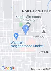 Hardin Simmons University map