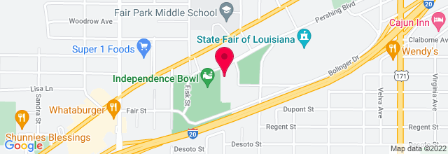 Map for Hirsch Memorial Coliseum2