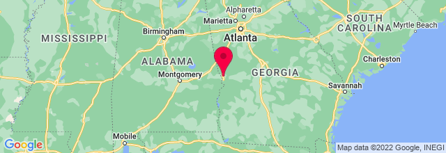 Map of Columbus, GA, US