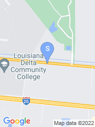 Louisiana Delta Community College map