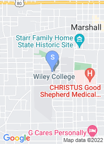 Wiley College map