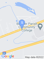 Bossier Parish Community College map