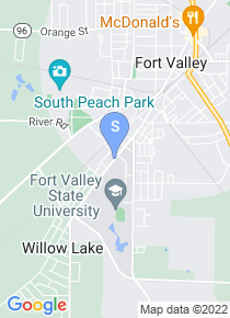 Fort Valley State University map