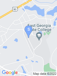 East Georgia College map