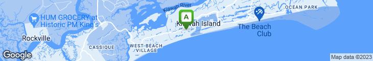Map of The Sanctuary at Kiawah Island