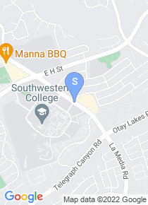Southwestern College map