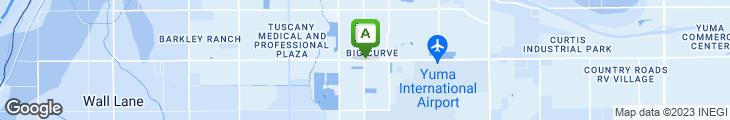 Map of Carl's Jr.