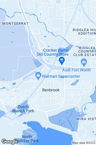 Map of Benbrook