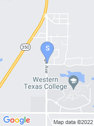 Western Texas College map
