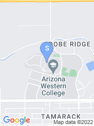 Arizona Western College map