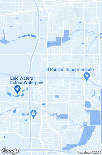 Map of Grand Prairie