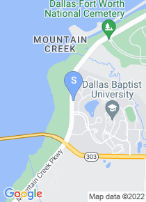 Dallas Baptist University map