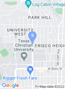 Texas Christian University map