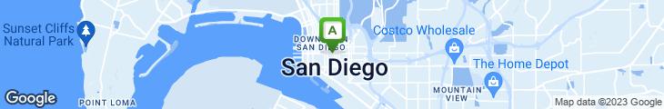 Map of Dobson's Bar & Restaurant